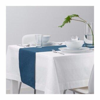 เสนอราคา MÄRIT ผ้าคาดโต๊ะ สีน้ำเงินเข้ม (ขนาด 35x130 ซม.)