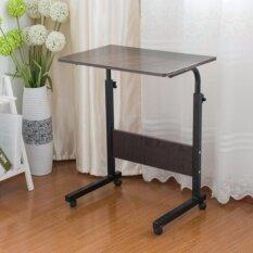 Mylazydesk โต๊ะอ่านหนังสือ โต๊ะทำงาน (รุ่นT60-ขนาด60cm-สีไม้เข้ม)
