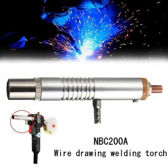 NBC200A Wire Drawing Welding Torch With Protective Mouth AndElectric Mouth Sliver - intl
