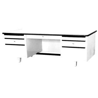NDL โต๊ะทำงานเหล็ก 4.5 ฟุต รุ่น TM-2654 (Pearl Cream)