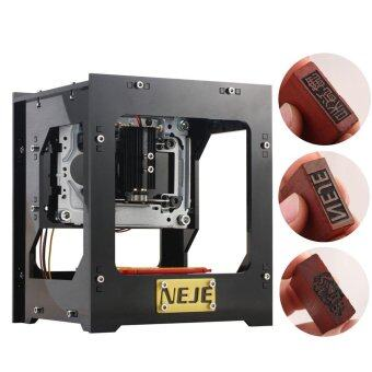 Harga NEJE DK-8-KZ 1000mW Mini USB aser Engraver Carver Automatic DIY Print Machine Off-line Operation with Protective Glasses - intl
