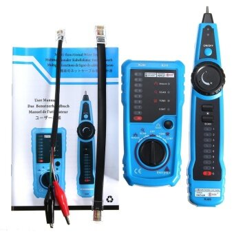 Network LAN Ethernet Phone Telephone Cable Tester Wire Tracker RJ45 RJ11 Finder - intl