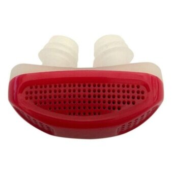 New anti-snoring nose clip breathing easy to ease snoring help red- intl