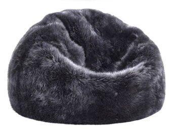อยากขาย New Brand Luxury Bean Bag 80x60x40 - สีเทาเข้ม