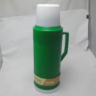 Nikko กระติกเก็บน้ำร้อนน้ำเย็นไส้แก้ว ขนาด 2 ลิตร สีเขียว(Green)