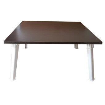 เปรียบเทียบราคา NK Furniline โต๊ะญี่ปุ่น 60x60ซม.(ไม้pbฟอยล์2หน้า) - สีโอ๊ค