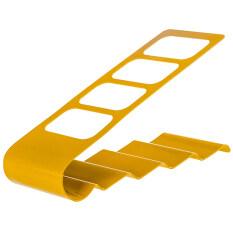 Number 8 ชั้นวางรีโมท/ที่เก็บรีโมทRemote Organizer-สีเหลือง