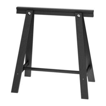 ODDVA ขาโต๊ะ Trestle 70*70 cm (ดำ)
