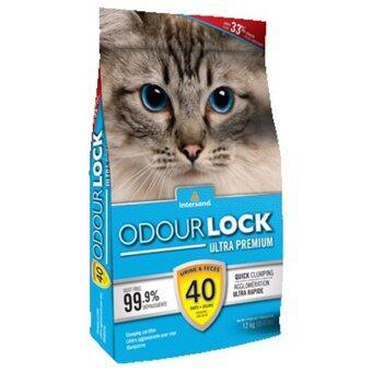 อยากขาย Odour เอ้าดอร์ล็อค ทรายแมว เกรดพรีเมี่ยม ที่ทำจากหินภูเขาไฟ 12 kg.