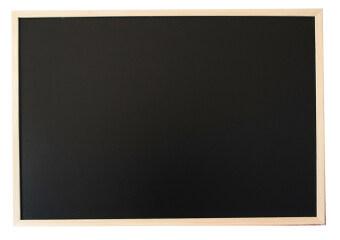 อยากขาย Office 2 art กระดาน Blackboard กระดานดำขอบไม้ ขนาด 60x90 cm. - สีธรรมชาติ