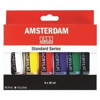 office2art สีอะคริลิก AMSTERDAM SET 6 หลอด 6 สี