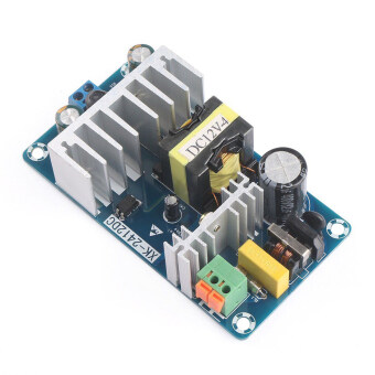 Harga OH AC 85-265V to DC 12V 8A AC/DC 50/60Hz Switching Power SupplyModule Board Blue