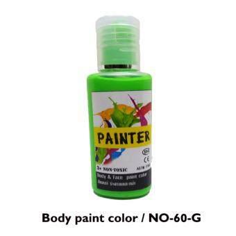 ขายด่วน PAINTER สีเพ้นท์ร่างกายแบบเรืองแสง สีเขียว ชนิดครีม