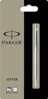 Parker ปากกาลูกลื่น รุ่น Jotter Stainless Steel ct bp