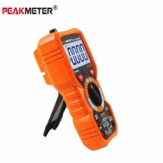PEAKMETER True RMS Digital Multimeter hFE Tester 6000 Counts DC/AC Current
