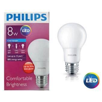 Philips หลอด LED BULB 8 วัตต์ ขั่ว E27 แสงเดย์ไลท์