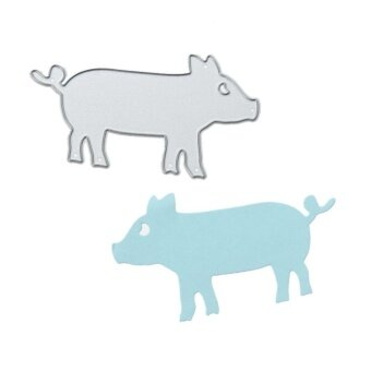 Pig DIY Metal Stencil Scrapbook Craft Cutting Die - intl - 2