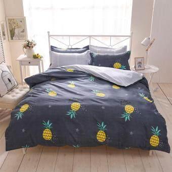 Pillow Land ผ้าปูที่นอน ชุดผ้านวม6 ฟุต 6 ชิ้น - B 103