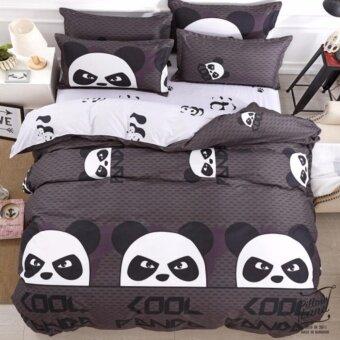 Pillow Land ผ้าปูที่นอน ชุดผ้านวม เกรด A 6 ฟุต 6 ชิ้น - B101