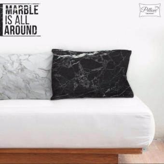 ปลอกหมอนคู่รัก ลายหินอ่อน ขนาดมาตรฐาน 75*50 cm. \marble is all around\