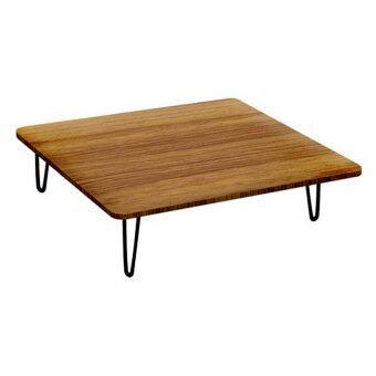รีวิว Play Boutique โต๊ะญี่ปุ่น โต๊ะพับได้ โต๊ะพับอเนกประสงค์ 60x80x29cm. สีลาเต้