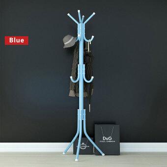 Popheko 12 Hook Hanging POLE Rack Clothes hanger Coat Stand
