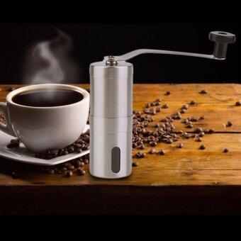 Practical Coffee Bean Grinder Stainless Steel Hand Manual Handmade Grinder - intl