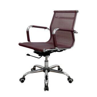 Prelude เก้าอี้สำนักงานMAGNIC สีแดง รุ่น PB-191L