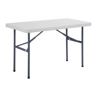Prelude โต๊ะพับอเนกประสงค์ 4 ฟุต รุ่น FP-120 (ขาว)