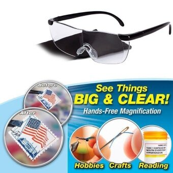 Pro Big Vision Magnifying Presbyopic Glasses Eyewear Reading GiftUnisex - intl