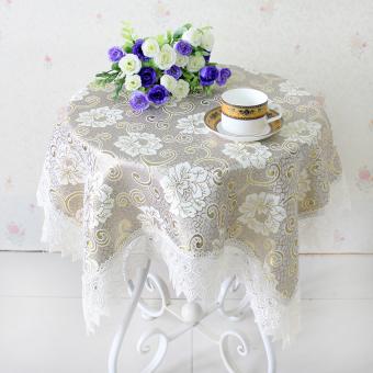 โต๊ะกลมโต๊ะน้ำชาผ้าผ้าปูโต๊ะผ้าม่านข้างเตียงตู้