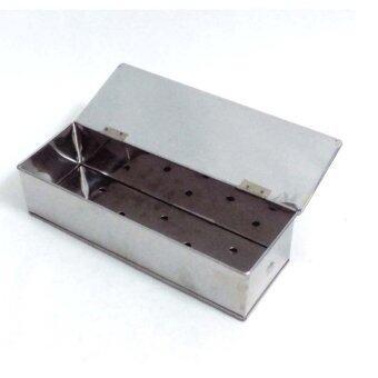 ประกาศขาย กล่องสเตนเลสเก็บช้อนส้อมตะเกียบ มีรูระบายอากาศ