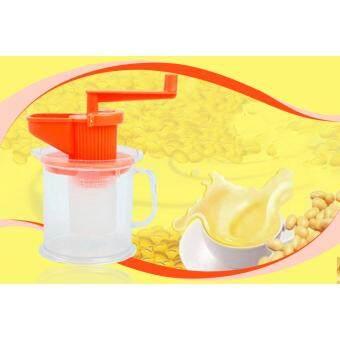 เครื่องทำน้ำเต้าหู้ หรือ นมถั่วเหลือง แบบหมุนมือ