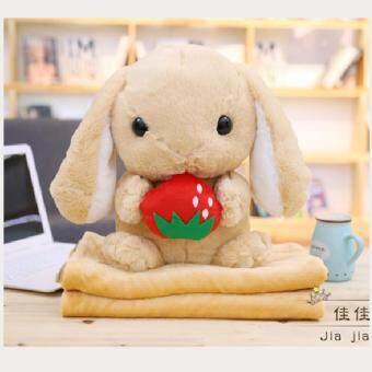 หมอนผ้าห่ม หมอนตุ๊กตา ตุ๊กตาผ้าห่ม (กระต่าย)