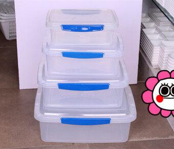 พลาสติกคิงตู้เย็นตู้แช่แข็งปิดผนึกกล่องกล่องเก็บกล่อง