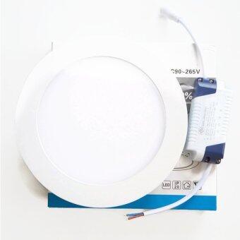 PS-LED โคมไฟฟ้าดาวไลท์ LED ชนิดติดลอยหน้ากลม Dia.17cm ขนาด 12W แสง Daylight รุ่น Blaze