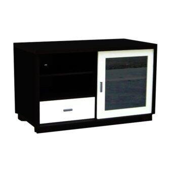 รีวิว PT ชั้นวางทีวีท็อป PVC ขนาด 100 ซม. รุ่น CB-004 สีโอ๊คขาว