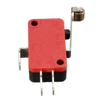 Harga Push Button AC 250V 16A Microswitch SPDT Micro Limit Switch 27mmRoller - intl