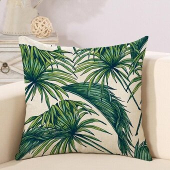[ Ready Stock ] Modern Linen Printed Pillowcases Home Decor CarSofa Cushion Covers - intl