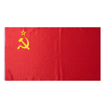 Red CCCP Union of Soviet Socialist Republics USSR Flag Russia Banner 90*156cm - intl