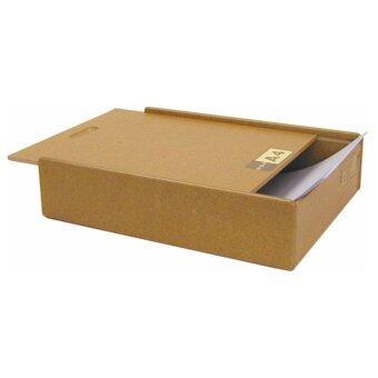 RELUX กล่องเก็บเอกสาร A4 / Letter Size วางซ้อนได้ รุ่น MDF-A4