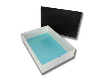 เปรียบเทียบราคา RELUX กล่องใส่กระดาษ A4/F4 วางซ้อนกันได้ MDF-707C BLACK - สีดำ