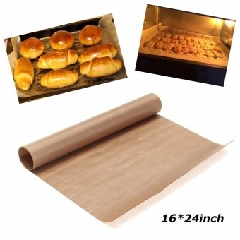 Reusable Non Stick Cooking Liner - Oven Microwave Grill Baking Mat Sheet 40x60cm - intl