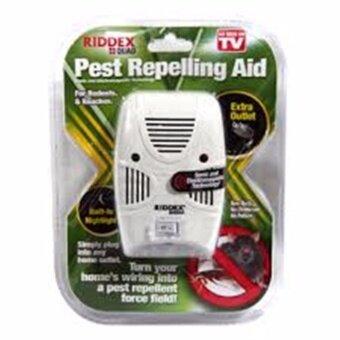 RIDDEX QUAD เครื่องไล่หนู มด แมลงสาบ แมลงวัน และยุง ที่เข้ามารบกวนบริเวณบ้านของคุณ - 5