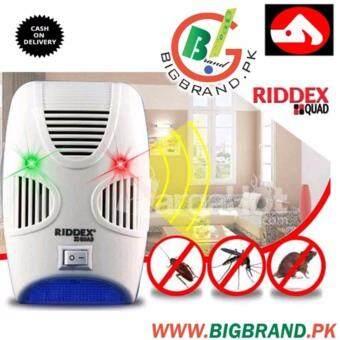 RIDDEX QUAD เครื่องไล่หนู มด แมลงสาบ แมลงวัน และยุง ที่เข้ามารบกวนบริเวณบ้านของคุณ - 2