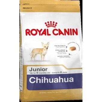 Royal Canin Chihuahua Junior อาหารสุนัขพันธุ์ชิวาวา ช่วงหย่านม - 8 เดือน (1.5 kg.)