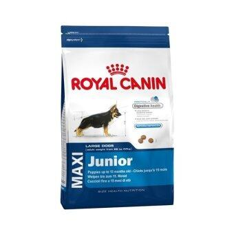 Royal Canin Maxi Junior อาหารสุนัขพันธุ์ใหญ่ อายุ 2-15 เดือน (ขนาด\n15 Kg.)