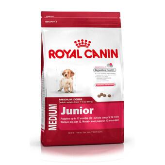 Royal Canin Medium Junior อาหารลูกสุนัขพันธุ์กลาง อายุ 2 - 12 เดือน (15 kg.)