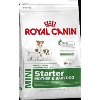 Royal Canin Mini Starter อาหารสำหรับแม่สุนัขตั้งท้อง\nและลูกสุนัขพันธุ์เล็ก 3 สัปดาห์ - 3 เดือน (ขนาด 3 kg.)