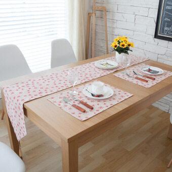 โมเดิร์นที่เรียบง่ายผ้าฝ้ายทีวีตู้โต๊ะกาแฟ runner ตารางผ้า